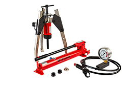 Auto-centre hydraulic puller kits