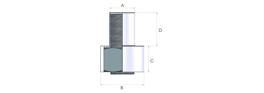 Bolt tensioner pumps, hoses, hose reels, couplers and bolt & nut protection caps. Bolt & Nut Protection Caps