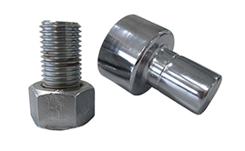 Bolt tensioner pumps, hoses, hose reels, couplers and bolt & nut protection caps. Bolt & Nut Protection Caps
