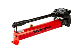 Bolt tensioner pumps, hoses, hose reels, couplers and bolt & nut protection caps. Manually Operated Pump for Bolt Tensioners.