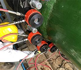 Bolting Works at a Gas Compressor Station