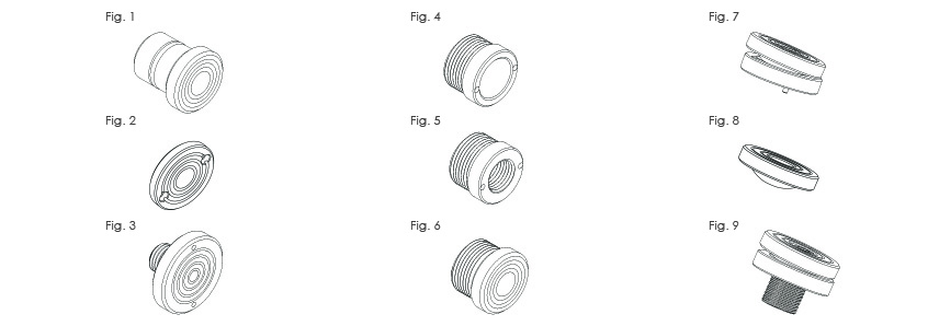 Cylinder Saddles and Piston Rod Thread Specifications