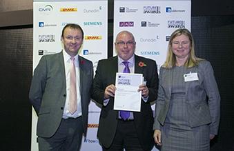 Daventry manufacturer highly commended for prestigious regional business award