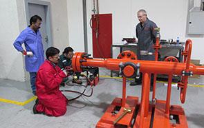 ECITB training school in Dubai