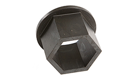 Hexagon reducer bushes. Imperial size range.