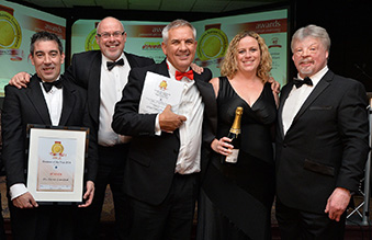 Hi-Force Bags Triple Crown at Northamptonshire Business Awards 2014
