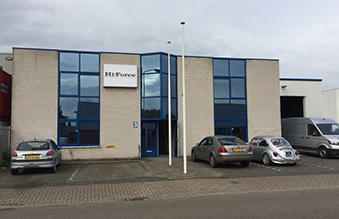 Hi-Force Netherlands new office