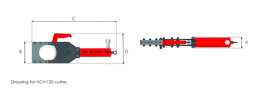 Hydraulic Cutter Heads