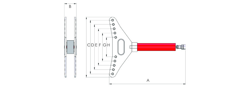 PB-Hydraulic Pipe Bender
