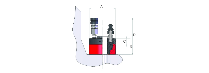 Hydraulic Tensioner Nuts Metric Range