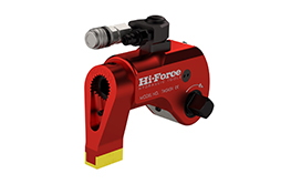 Hydraulic torque wrenches - Reversible square drive design.