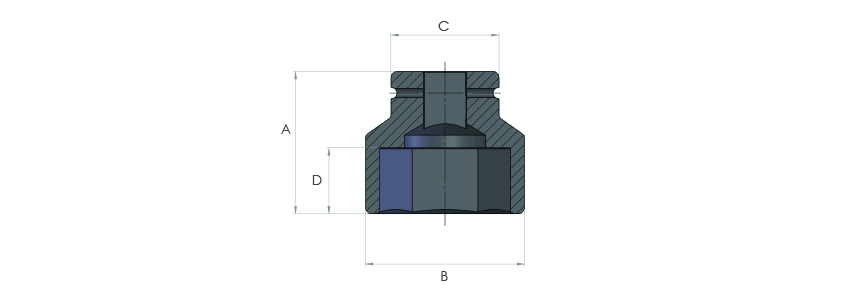 Imaperial Hexagon AF size heavy duty sockets Imperial and metric range