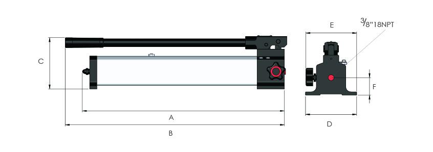 Manually Operated Aluminium Pumps