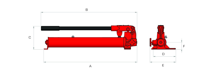 Manually Operated Pumps - Steel