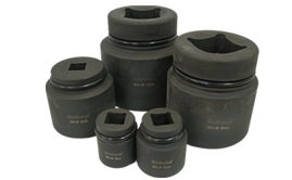Metric Hexagon AF size heavy duty sockets. Imperial and metric range.