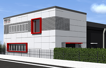 New premises for Protec SRL, a Hi-Force company