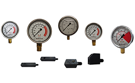 Pressure Gauges & Gauge Mounting Blocks