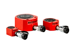 Single Acting Low Height Pad Cylinders