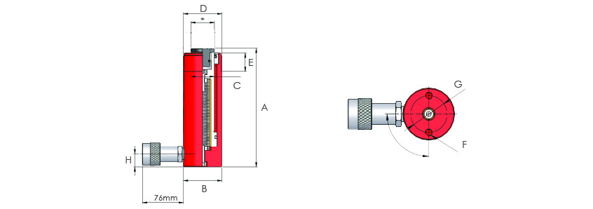 Single Acting Multi-Purpose Cylinders