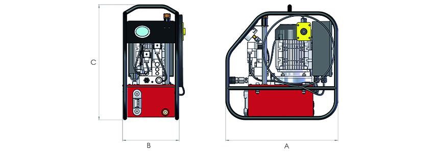 Torque Wrench Pumps. Standard range.